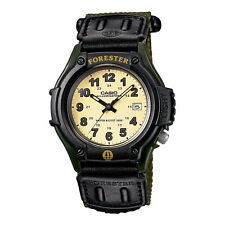 Casio FT-500WC-3B Forester Analog Military Green Nylon Cloth with Velcro Watch