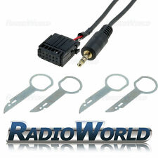 Ford 6000 CD Aux IN GOLD Plated Input Adapter for IPOD/MP3 + Radio Pins/Keys