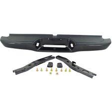 Step Bumper For 95-04 Toyota Tacoma Black Steel w/ brackets/pads Fleet Styleside