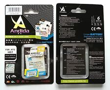 Batteria maggiorata originale ANDIDA 1600mAh x Htc A310e, A510e, T9292