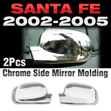 Chrome Side Mirror Garnish Molding A379 For HYUNDAI 2002 2003 2004 2005 Santa Fe