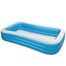 "Intex Swim Center Family Inflatable Pool 120"" X 72"" X 22"" for Ages 6+"