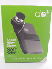 Kogeto Dot 360º Degree Panoramic Camera Action Video Lens for iPhone 4 4S Black