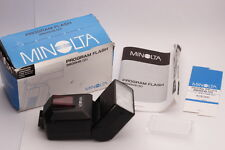 [Mint in Box] Minolta 3600HS Shoe Mount Flash with Manual Instruction from Japan