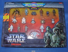 Star Wars Micro Machines SPACE DROIDS Collector's GIFT SET 1995 Mint in Box