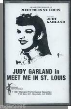 Meet Me in St. Louis - Radio Show With Judy Garland- New Cassette Tape!