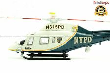 Agusta A119 Koala 2004 1/72 USA Police Helicopter NYPD Model New Diecast No16