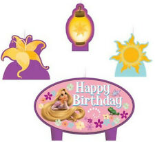 TANGLED Cake CANDLES Disney Princess Rapunzel birthday party supplies 4 molded