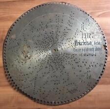 Einsam bin ich ,  Polyphon Blechplatte D 39,5 Spieluhr music box disc 15 1/2''