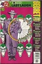 Batman '01 Joker Last Laugh Secret Files and Origins 1 VF A4
