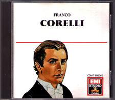Franco CORELLI Giordano Puccini Cilea Andrea Chenier Tosca Turandot Puritani CD