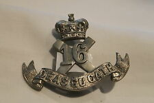 WW1 Canadian CEF 16th Battalion Cap Badge with lugs