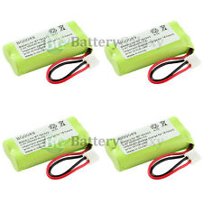 4 New Cordless Home Phone Battery 350mAh NiCd for AT&T Lucent BT18433 BT28433