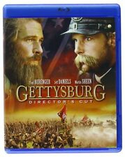 Gettysburg Directors Cut (blu Ray) *New,Sealed*