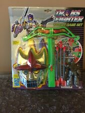 1992 Transformers KO Knock Off Trans fighter Target Game Set Rare Look