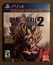 Dragon Ball Xenoverse 2: Day One Edition (Sony PlayStation 4, 2016) DLC Unused