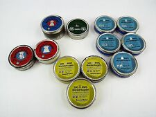 Assorted Lot Of Bee Bee Pellet/Tins For Air Guns-Used (12) Tins