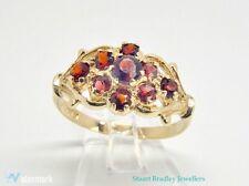 Vintage Garnet Cluster Ring | Size P (UK) 7 3/4 (US)