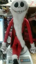 The Nightmare Before Christmas Santa  Claus Jack Skellington Plush Disney Decor