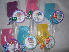 36 Nick Jr Shimmer and Shine Gourmet 5th Birthday Party Favors with custom tags