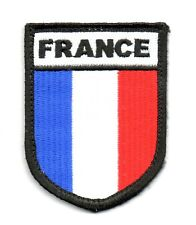 Toppe Toppa PATCH MILITARE MILITARI FRANCE OPEX armata AIRSOFT SOFTAIR wwii