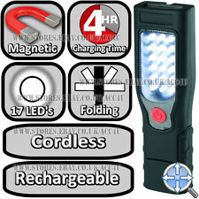 Ring RIL40 Rechargeable Cordless Magnetic Base LED Inspection Lamp & Torch Light