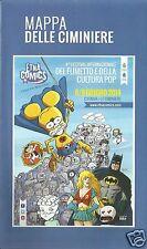 ETNA COMICS 2014 MAPPA DELLE CIMINIERE Copert. inedita di RATMAN di LEO ORTOLANI