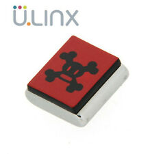 Moda Charm magnetico CLIX - Skurvy Square Black on Red
