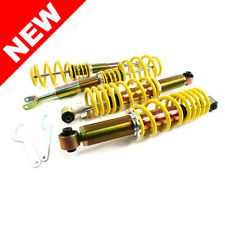 RSK Street Adjustable Coilover Kit - Audi A4 B5 Quattro - Yellow