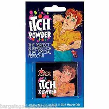 ITCH ITCHING SCRATCH POWDER FUNNY JOKE TRICK BOYS CHILDRENS BIRTHDAY GIFT