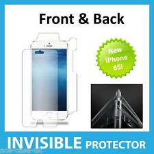 NEW Apple iPhone 6S INVISIBLE Screen Protector Shield Full FRONT AND BACK