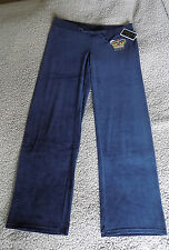 Juicy Couture pants bling iconic orig pant size L (16) navy BNWT