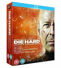 DIE HARD Complete Movie BluRay Collection Part 1 2 3 4 5 Boxset + Extras New