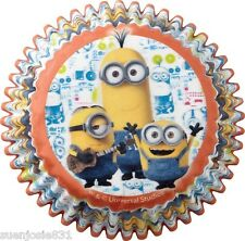 Despicable Me Minions Baking Cups 50pcs Cupcake Deocrations Supplies by Wilton