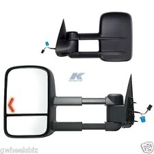 2003-2006 CHEVY SILVERADO / TAHOE POWER HEATED TURN SIGNAL TOWING MIRROR (PAIR)