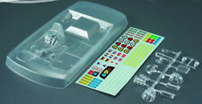 TOURING Body Interior Cockpit Driver PVC For 1:10 RC Draft Racing Model Car