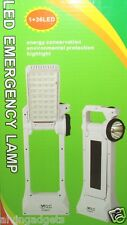 Dual Solar Power Energy Super Bright SMD 36 LED Light Desk Lamp With Power Bank