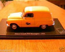 SIMCA ARONDE P60 MESSAGERE 1963 LA POSTE PTT 1/43 NEW JAUNE UNIVERSAL HOBBIES
