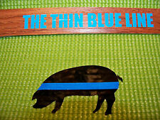 Thin Blue Line - Blue Line P.I.G. reflective idetifier -Top Quality & Ships FREE