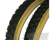 Tioga Comp III 3 Oldschool Skinwall BMX Tyres 1.75/1.75 Pair Free UK Delivery