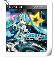 PS3 Hatsune Miku -Project DIVA- F SONY PlayStation English / Japanes Music Sega