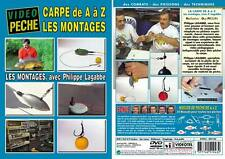 DVD La carpe de A à Z Les montages Philippe Lagabbe - Pêche de la carpe - Vidéo
