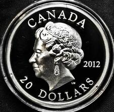 2012 Canada $20 Fine Silver Coin - Queen's Diamond Jubilee - High Relief