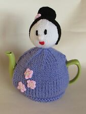 TeaCosyFolk Japanese Lady Tea Cosy Knitting Pattern