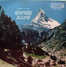 SWISS ALPS Music Of The LP - Original 50s OZ Parlophone Mono