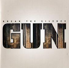 GUN - Break The Silence (CD, Jewel Case, Hard Rock)