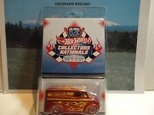 Hot Wheels 12th Annual Collectors Nationals Orange Dairy Delivery No Sticker
