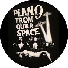 CHAPA/BADGE PLAN 9 FROM OUTER SPACE . pin button ed wood vampira tor johnson