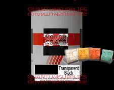 Transparente Negro Pigmento 250g Para poliéster Gelcoat / Resina y agua transparente