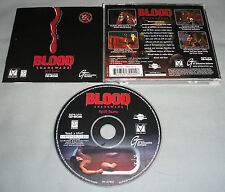 Blood Shareware Spill Some PC Computer CD Video Game by GT Interactive COMPLETE!